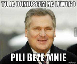 Kwaśniewski - afera Lewandowski Szampan
