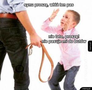 Synu bądź grzeczny