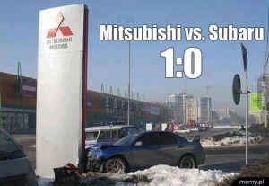 Mitsubishi vs Subaru