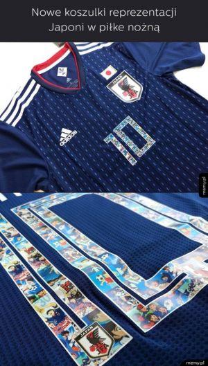 Koszulki reprezentacji Japonii
