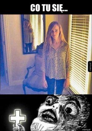 Odbicie w lustrze