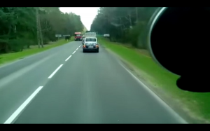 Wzorowa reakcja polskiego kierowcy