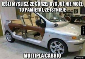 Multipla cabrio