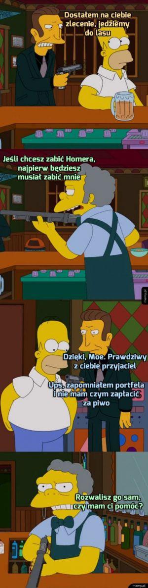 Przyjaźń z barmanem ma swoje granice