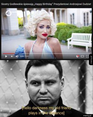 Jaki prezydent, takie Marilyn