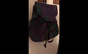 Świecący plecak