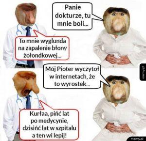 Kiedy Janusz przychodzi do lekarza