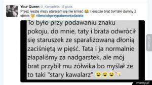 Kościelne przypały polskich internautów