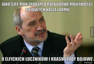 Macierewicz na czele MON