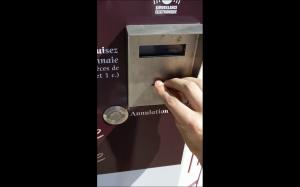 Automat z bagietkami