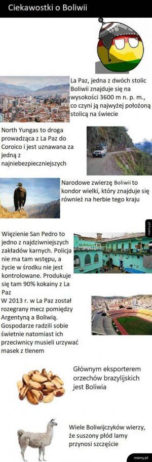 Ciekawostki o Boliwii