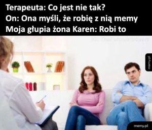 Memy z żoną