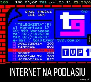 Internet na Podlasiu