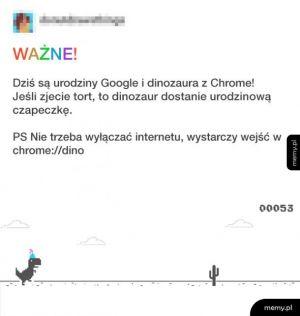 Urodziny Google
