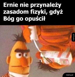 Ernie ma pecha