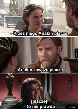 Anakin płaczek