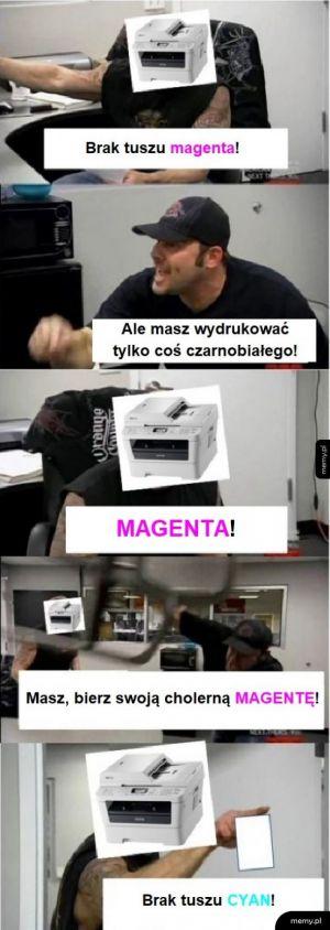 Typowa drukarka