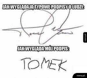 Mój podpis