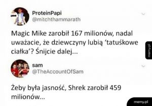 Shrek vs Magic Mike