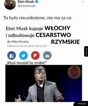 Dobry ziomek Elon