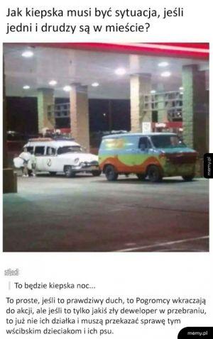 Pogromcy Duchów vs Scooby Doo