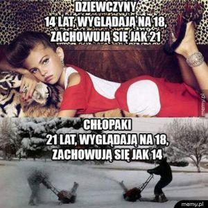 Dziewczyny vs Chłopaki