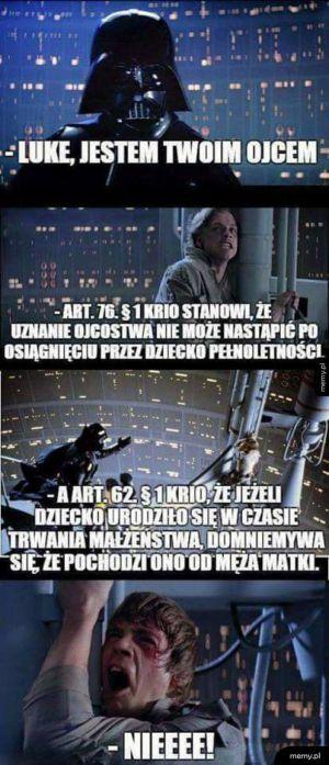 Wycięta scena z gwiezdnych wojen