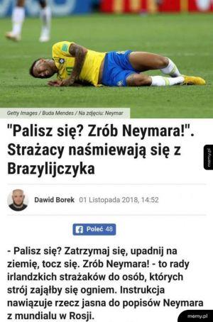 W razie potrzeby zrób Neymara