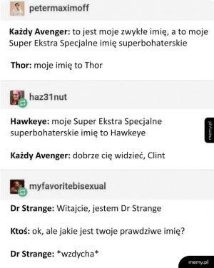 Imiona superbohaterów