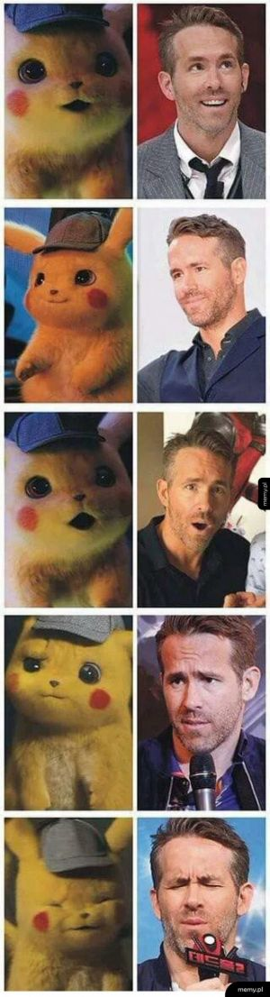 Pikachu to Ryan Reynolds
