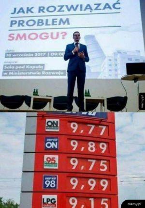 Rządowy sposób na smog