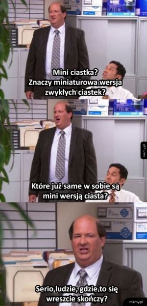 Kevin kontra mini cupcakes