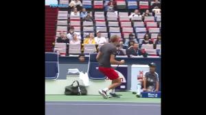 Straszny tenisista