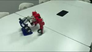 Optimus Prime transformacja