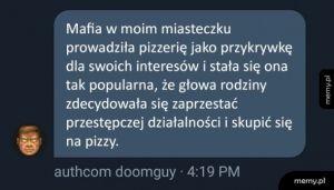 Pizza kontra mafia