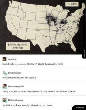Świat opanowany przez świnie