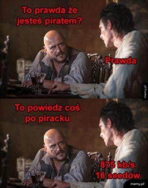 Piracki język
