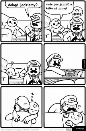 Miły kierowca