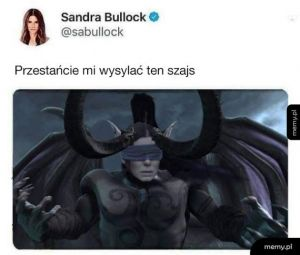 Tymczasem Sandra Bullock