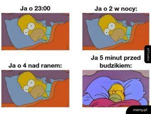 Każdej nocy to samo