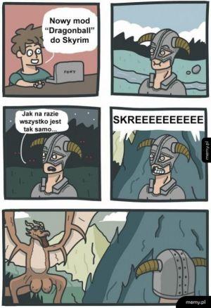 Dragonball na Skyrim