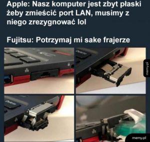 Apple nie umie
