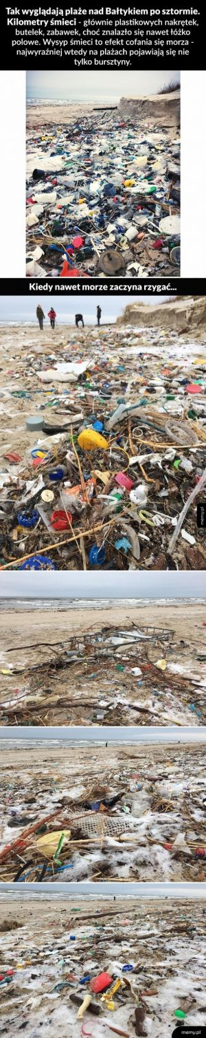Plastikowe bursztynki