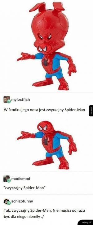 Spiderman w Spidermanie
