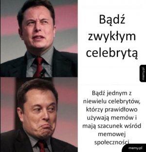 Elon nie jest zwykłym celebrytą