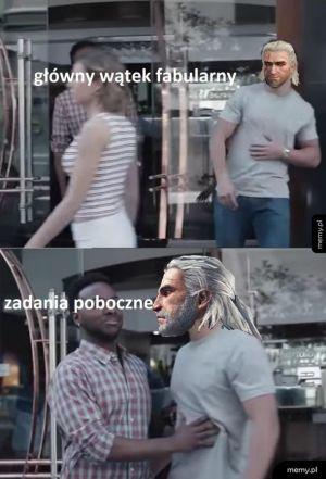 Geralt który nie szanuje fabuły