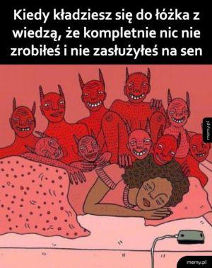 Pójście spać