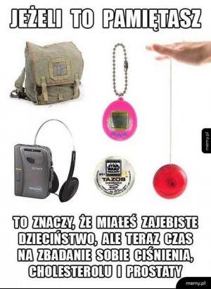 Pamiętacie te rzeczy?