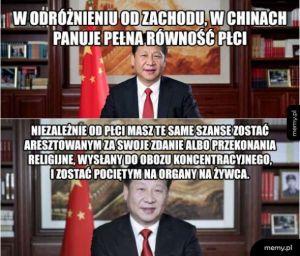 Równość płci w Chinach
