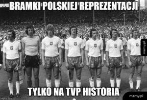 Bramki reprezentacji Polski